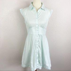 Victoria's Secret Retro Button Up Sleeveless Dress